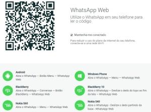 imagem para utilizar o whatsapp no computador
