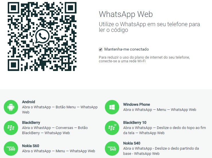 acessar whatsapp pelo pc