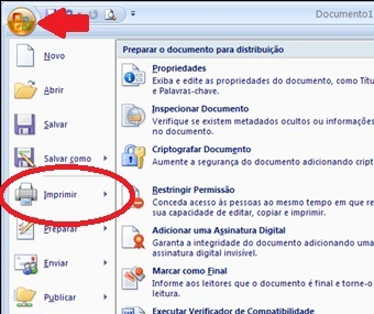 como converter o documento do word para pdf