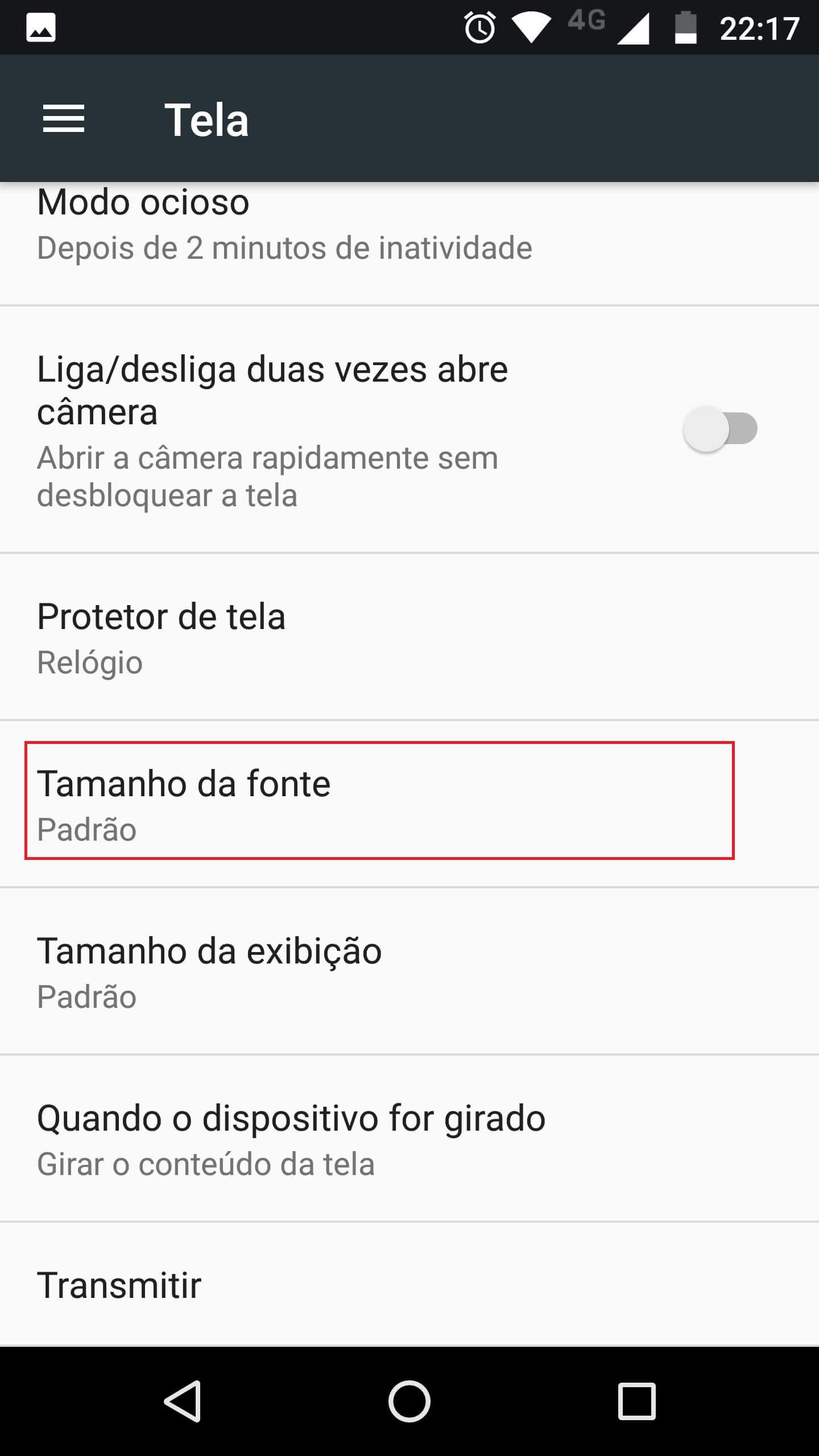 369689abe Como aumentar o tamanho das letras no celular Android ou iPhone ...